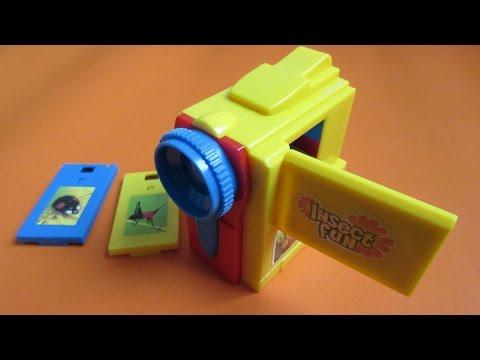 กล้องวีดีโอของเล่น แบบฟิล์มสไลด์กดดูรูป
