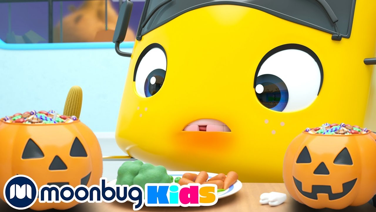 Wobbly Tooth on Halloween! | Go Buster By Little Baby Bum | Spooky Kids Cartoons & Baby Videos
