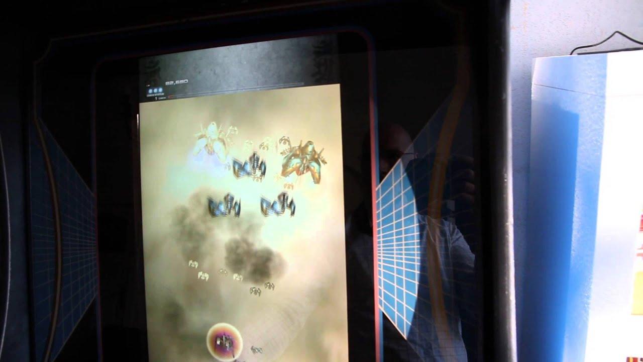 Ikaruga (PC Steam version) on arcade cabinet - YouTube