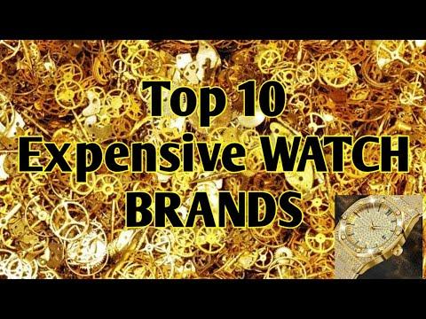 Top 10 Expensive Watch Brands