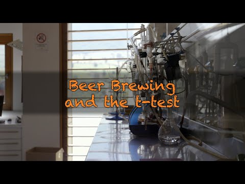 Beer Brewing and the t-test