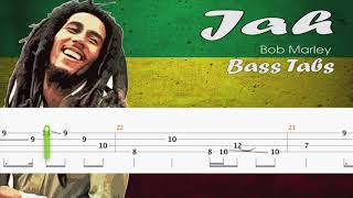 Bob Marley - Jah ( Official Bass Tabs)