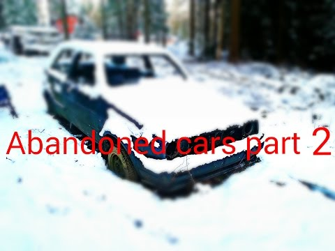 Abandoned Cars In Finland Part 2