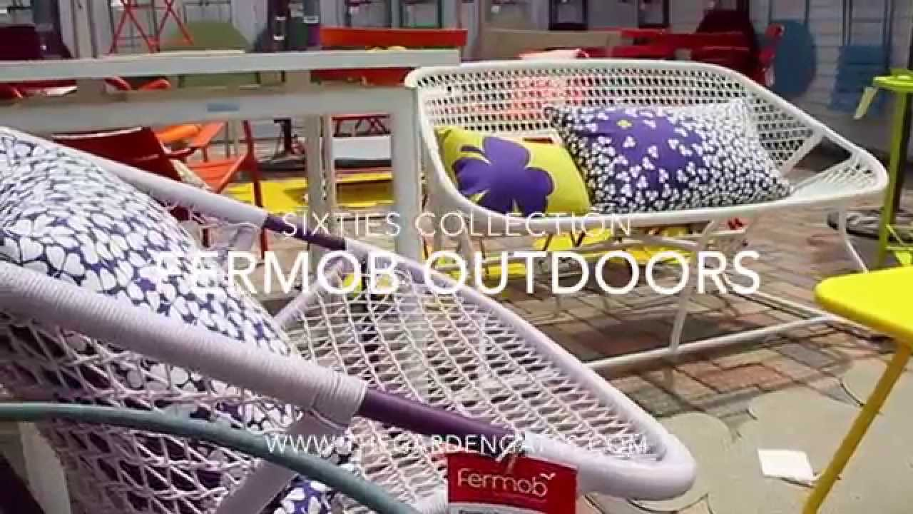 fermob sixties collection thegardengates com youtube. Black Bedroom Furniture Sets. Home Design Ideas