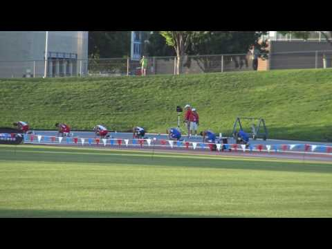 Bryce Kirby 200m prelim @ Mountain West Conference Championship