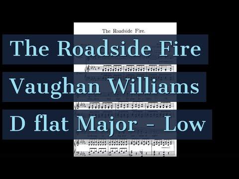 The Roadside Fire Piano Accompaniment Songs of Travel Low Key Karaoke