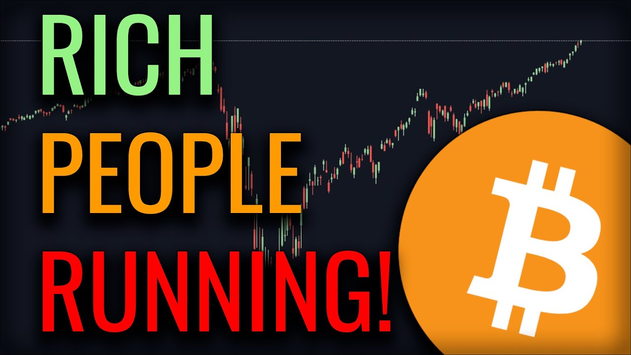 BITCOIN RALLIES AS BILLIONAIRES FLEE THE STOCK MARKET!! - WHAT HAPPENS NEXT?
