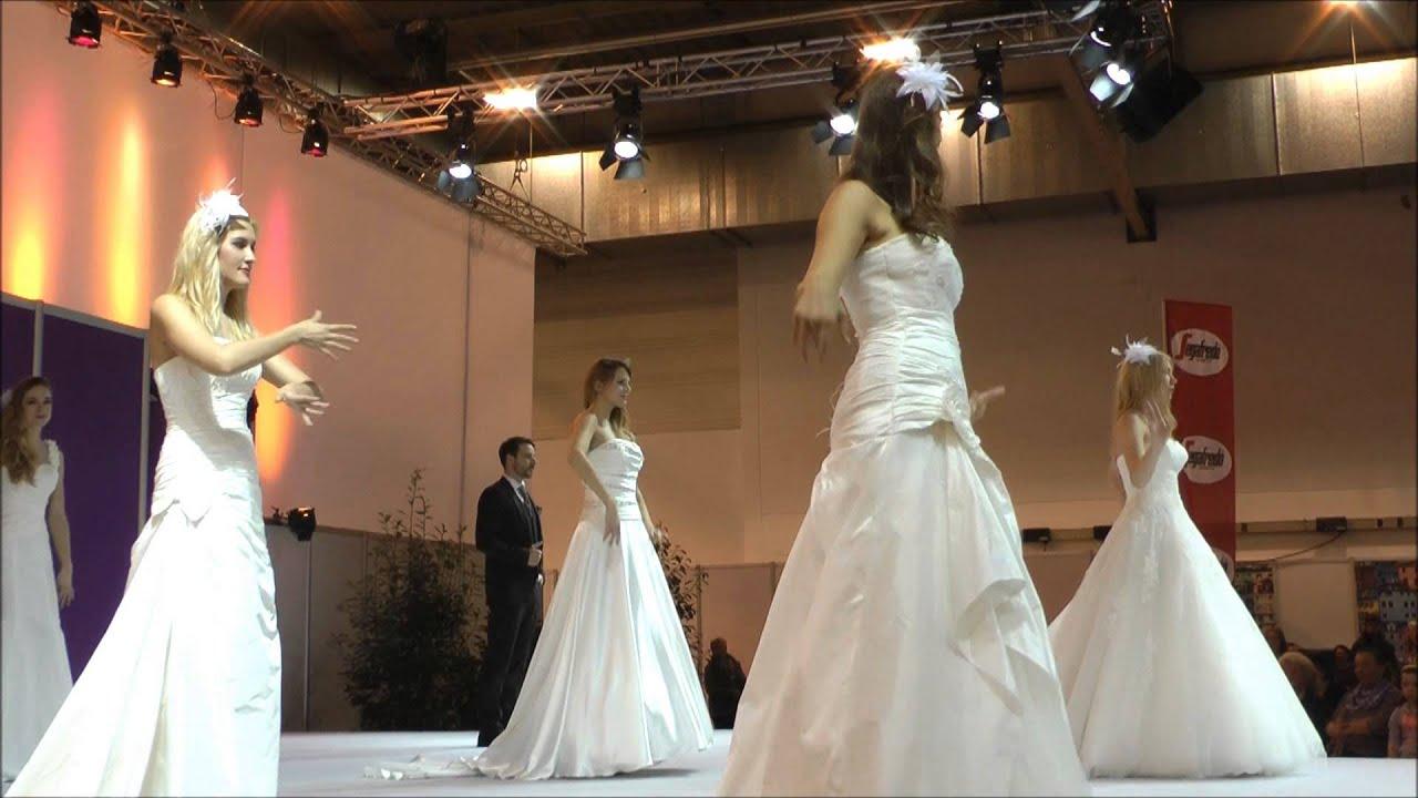 Messe Essen-Mode-Modenschau Brautkleider - YouTube