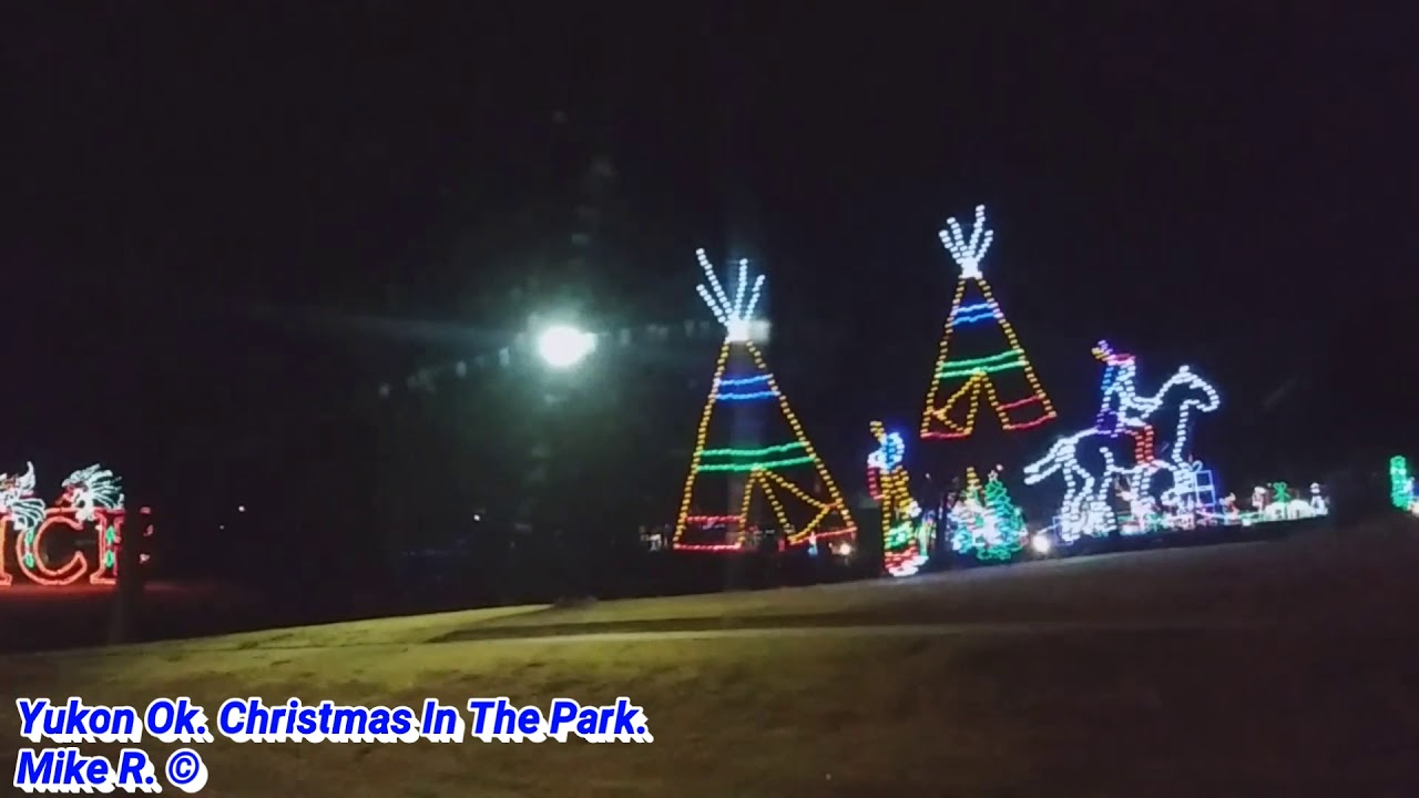 Yukon Ok Christmas Lights.Yukon Ok Christmas In The Park