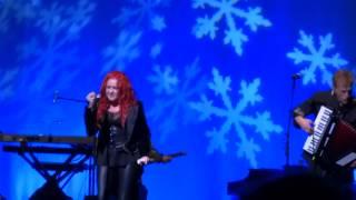 "Cyndi Lauper with Eric Bazilian  & Rob Hyman of the Hooters - ""Just Like Christmas"""