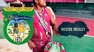 Mestre Wesley playing Repique on Escola de Bateria 2019
