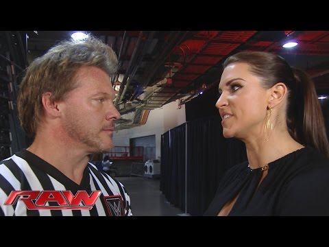 Stephanie McMahon berates Chris Jericho: Raw, January 18, 2016 thumbnail