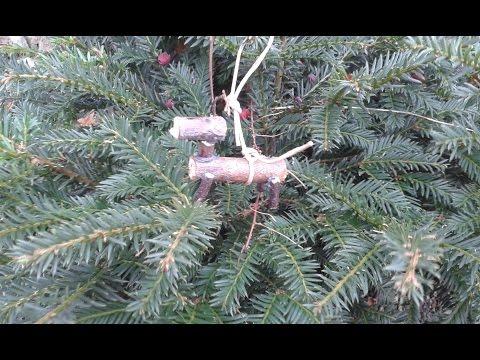 diy christbaumschmuck aus holz selber machen weihnachtsbaumschmuck aus naturmaterialien. Black Bedroom Furniture Sets. Home Design Ideas