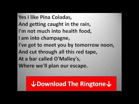Rupert Holmes - Escape (The Pina Colada Song) Lyrics