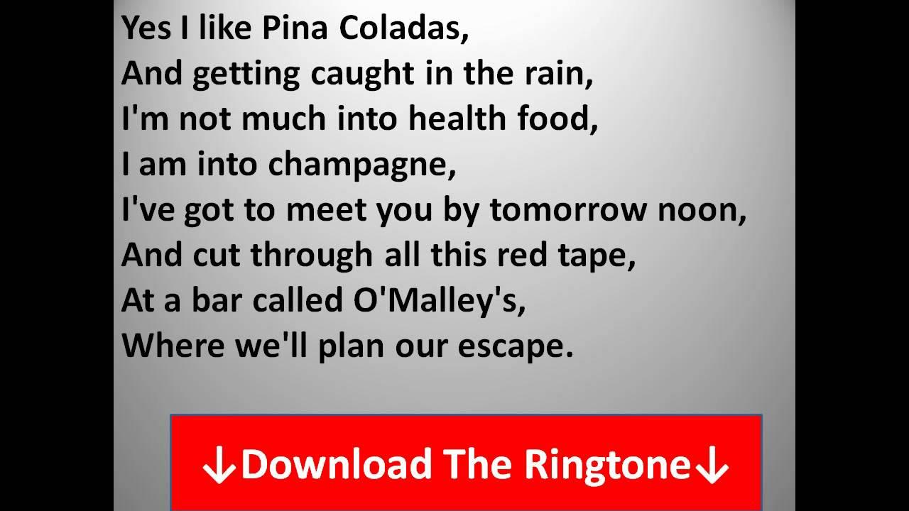 Rupert Holmes   Escape The Pina Colada Song Lyrics   YouTube
