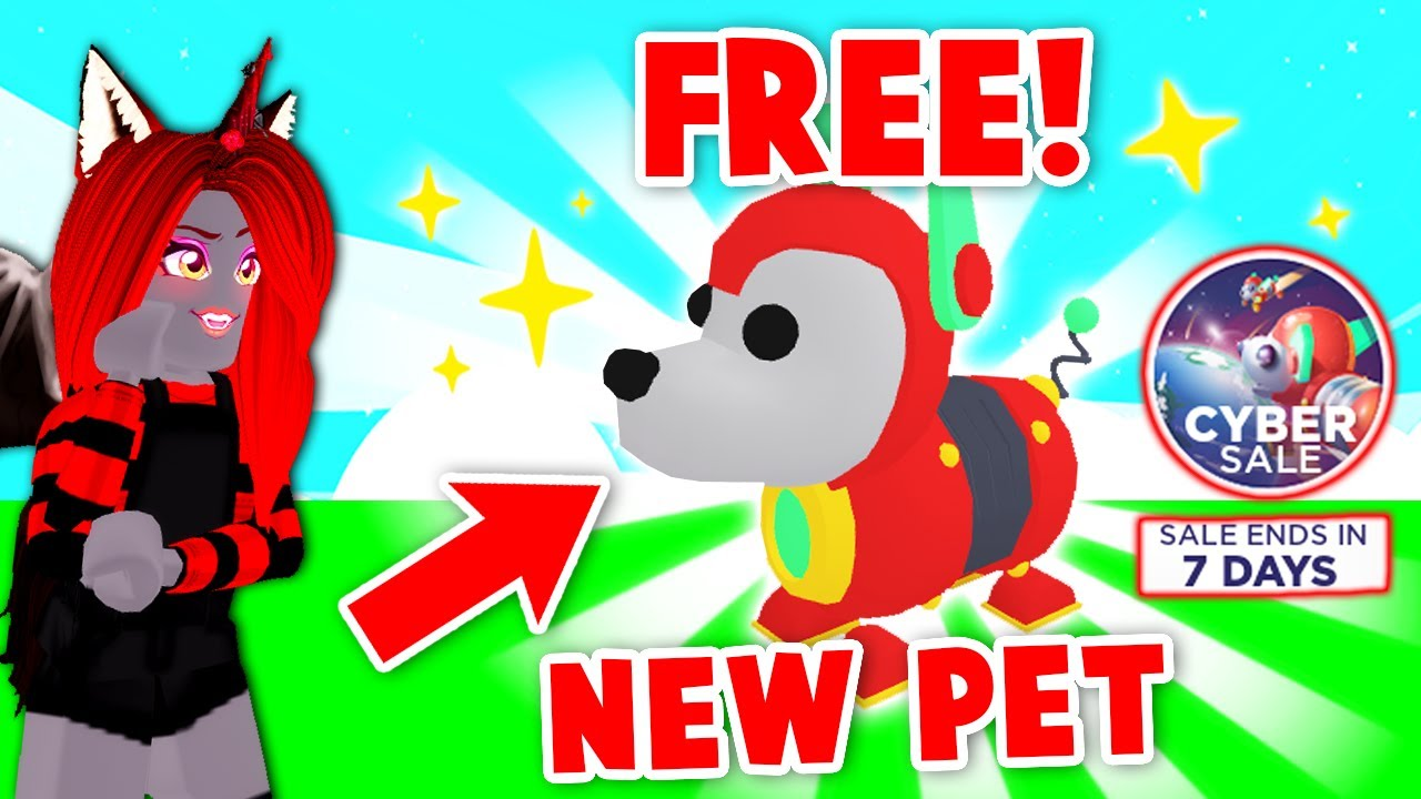 Getting The BRAND *NEW* ROBO DOG In Adopt Me And Giving Away *FREE* Ones! (Roblox)