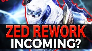 ZED REWORK INCOMING? | My Theory - League of Legends