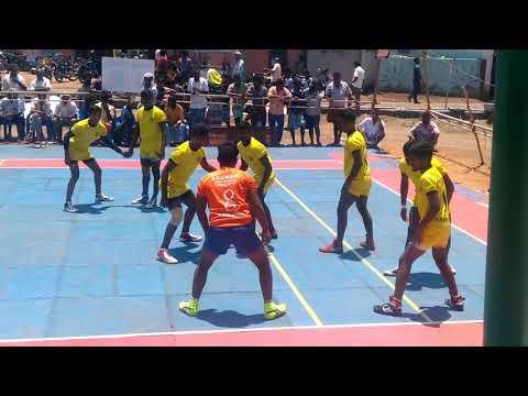 State Level Kabaddi match palakkodu   pk sports club vellore vs makkan kottai kabaddi team  palakodu