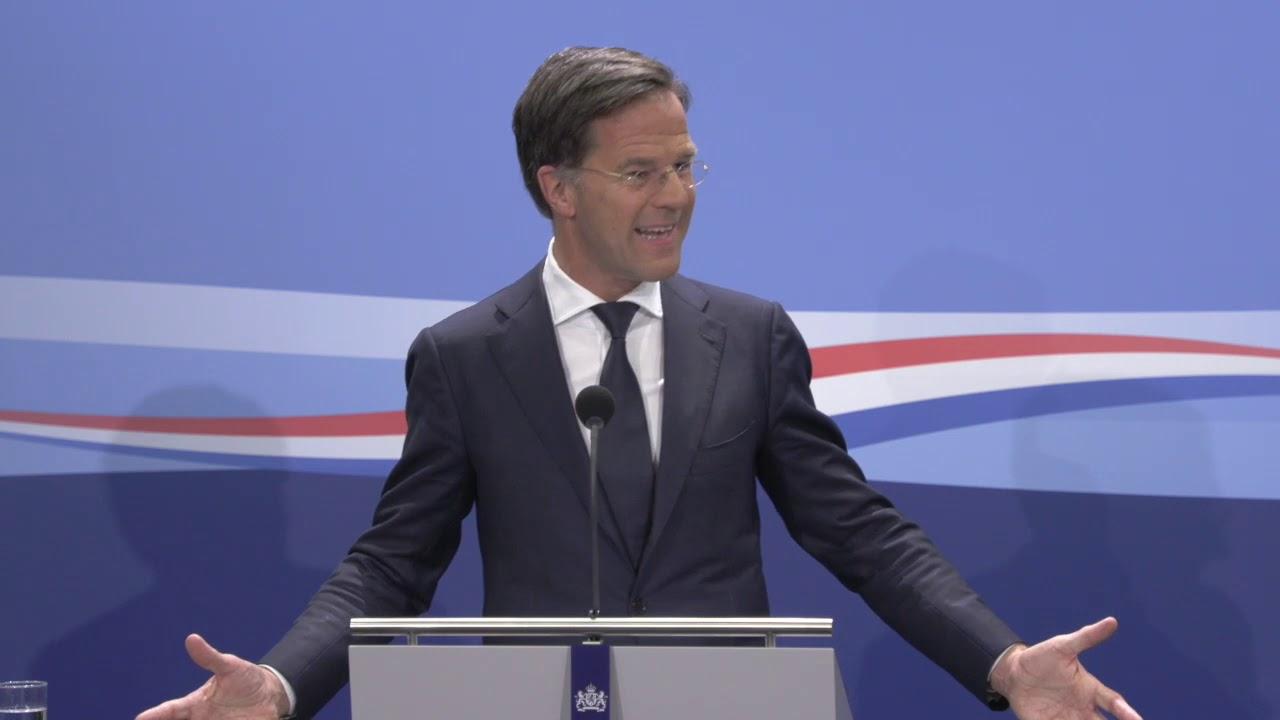 Integrale Persconferentie Van MP Rutte Van 12 Juni 2020