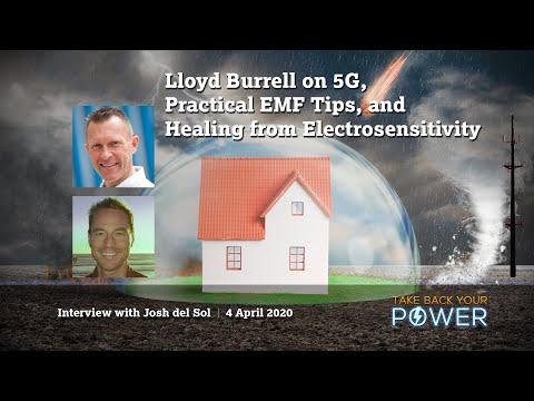 Lloyd Burrell on 5G & practical EMF tips