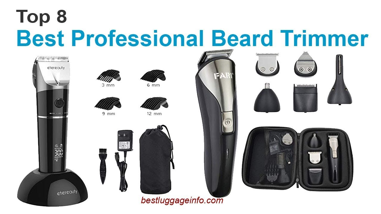 Best Professional Beard Trimmer Top 8 Best Mens Professional Hair
