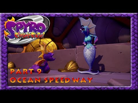Spyro Reignited Trilogy (Spyro 2 Ripto's Rage): 9 - Ocean Speedway!