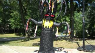 Gemmy Airblown Inflatable Halloween Shaking Tree