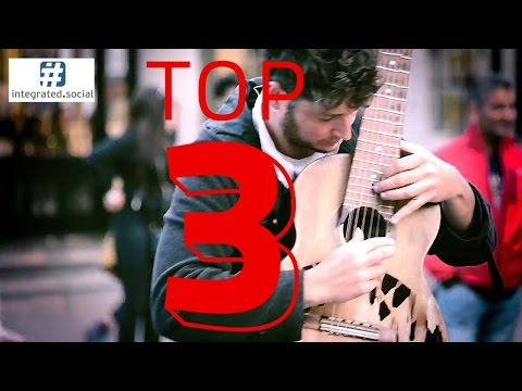 Watch Tom Ward and his Old Broken Guitar Amazing Street Performer and Guitar Music Talent