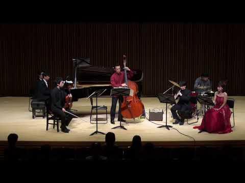 Kapustin : Sextet for flute, oboe, viola, piano, double bass & drums Op.79 (Japan Premiere)