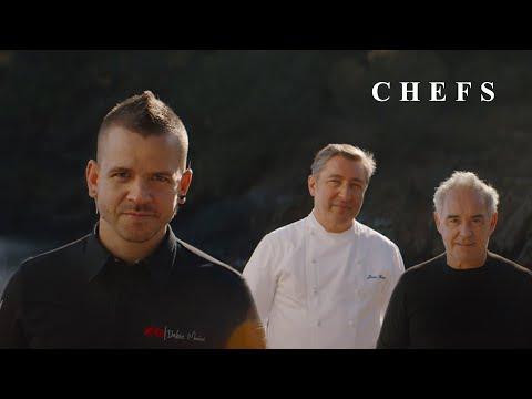 """""""CHEFS"""", con Ferran Adrià, Joan Roca, Dabiz Muñoz y muchos más. Estrella Damm 2021"""
