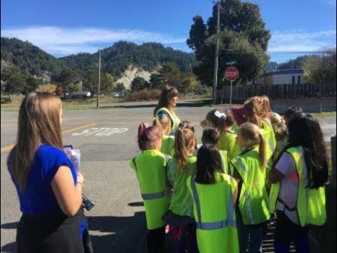 Eagle Prairie Elementary School Pedestrian Safety lesson