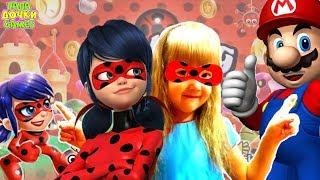 ПРЕМЬЕРА! 🐞 Леди Баг и Супер-Кот Рерол игры Супер Марио. Развлекательное видео для детей