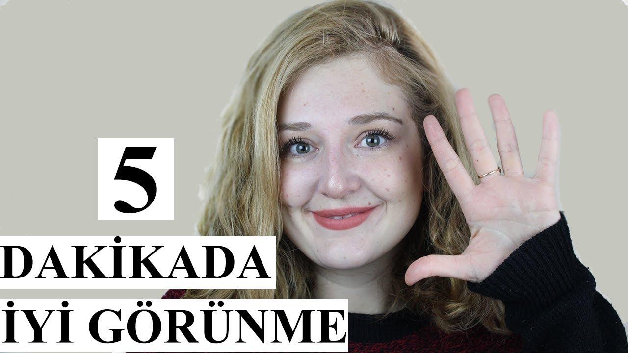 5 Dakikada Yüz makyajı Nasıl Yapılır