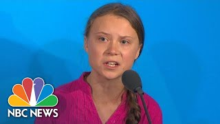 Watch Greta Thunberg's Impassioned Speech: 'Change Is Coming Whether You Like It Or Not' | NBC News