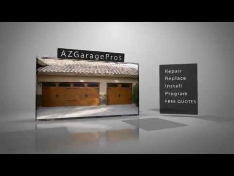 Az garage pros garage door repair phoenix az 480 696 for Garage door repair phoenix