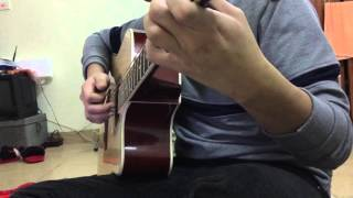Quay Lưng - Yến Lê (guitar covered by Tùng Quy, Hạnh Gấu và Phương Thao)