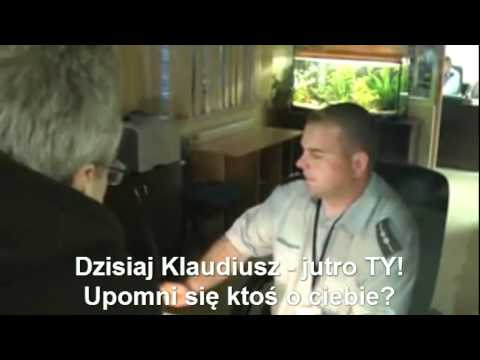Bloger Klaudiusz Wesołek aresztowany TVG-9 20.04.2011