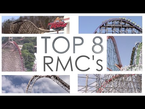 Ranking the RMC Roller Coasters (2017)