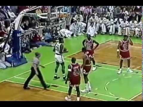 1991 Boston Celtics vs Chicago Bulls. Part 1