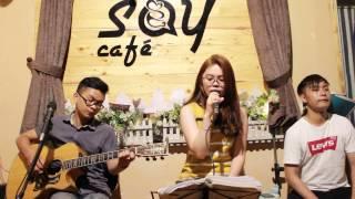 Chỉ còn những mùa nhớ | Guitar Tân Bo Cover | Tâm Cừu Bông | Huân Cajon | Say Acoustic Cafe
