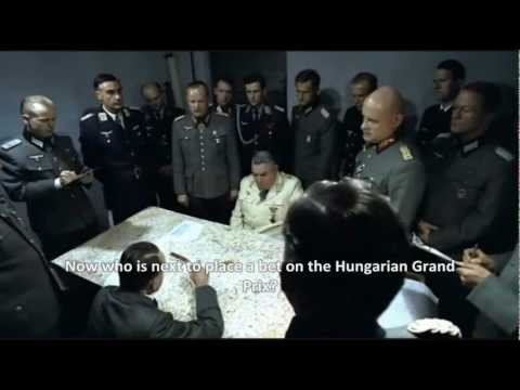 Hitler and his F1 syndicate bet on the 2012 Hungarian Grand Prix