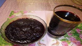 Джем и напиток из ирги как приготовить легко, быстро и качественно , и как его удобно хранить.