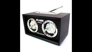 Жөндеу портативті колонкалар ATLANFA AT-8958