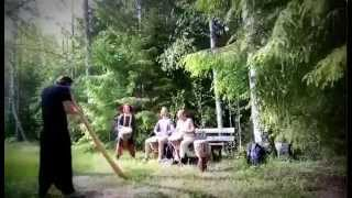 Forest didge and djembe session, Primal Ground