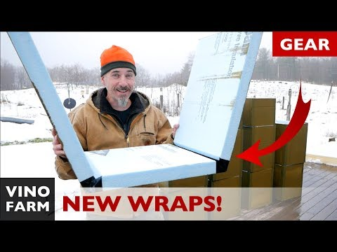NEXT LEVEL Beehive Insulation!