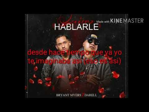 Bryant myers ft Darell- Quiero hablarle (video lyric)