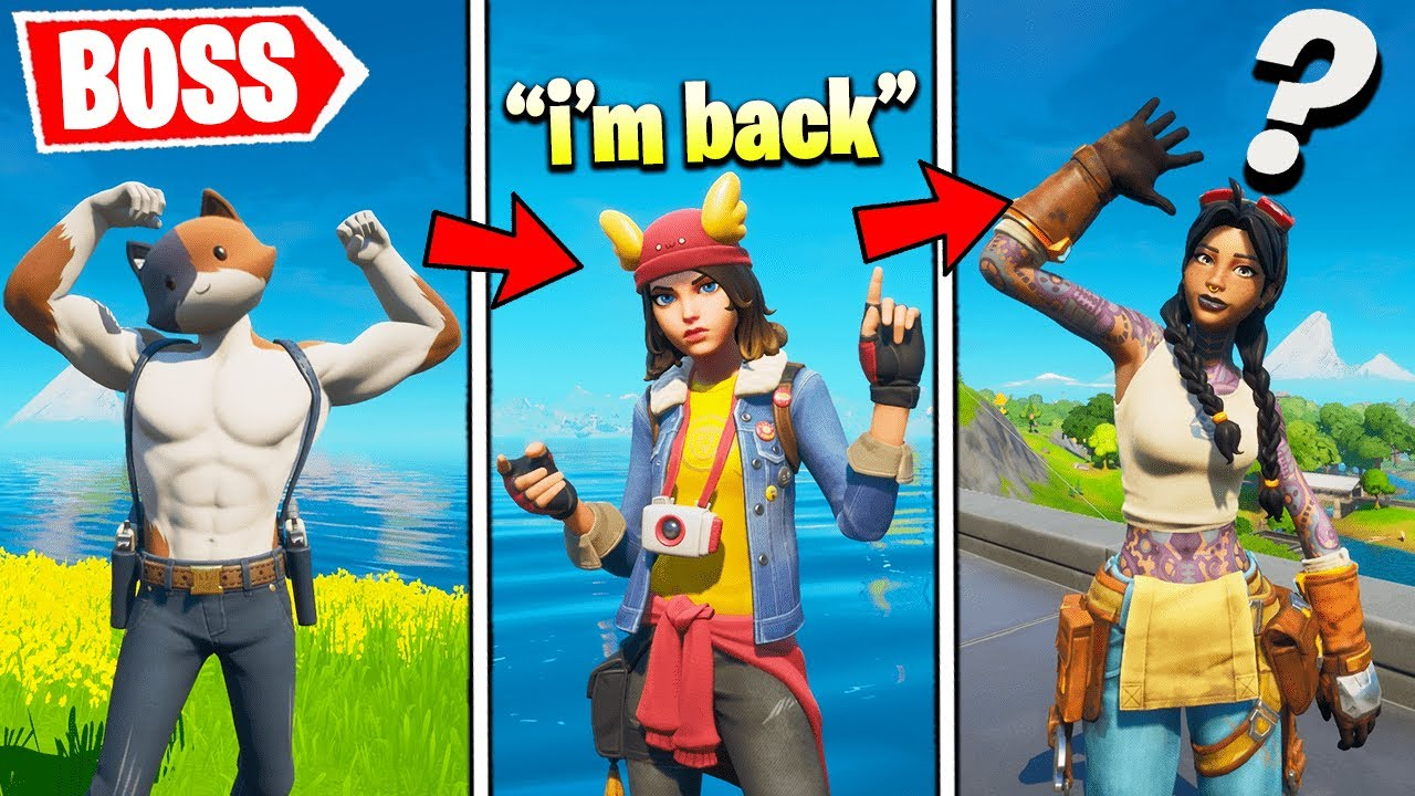 I Pretended to be a New BOSS Every Death (Fortnite)