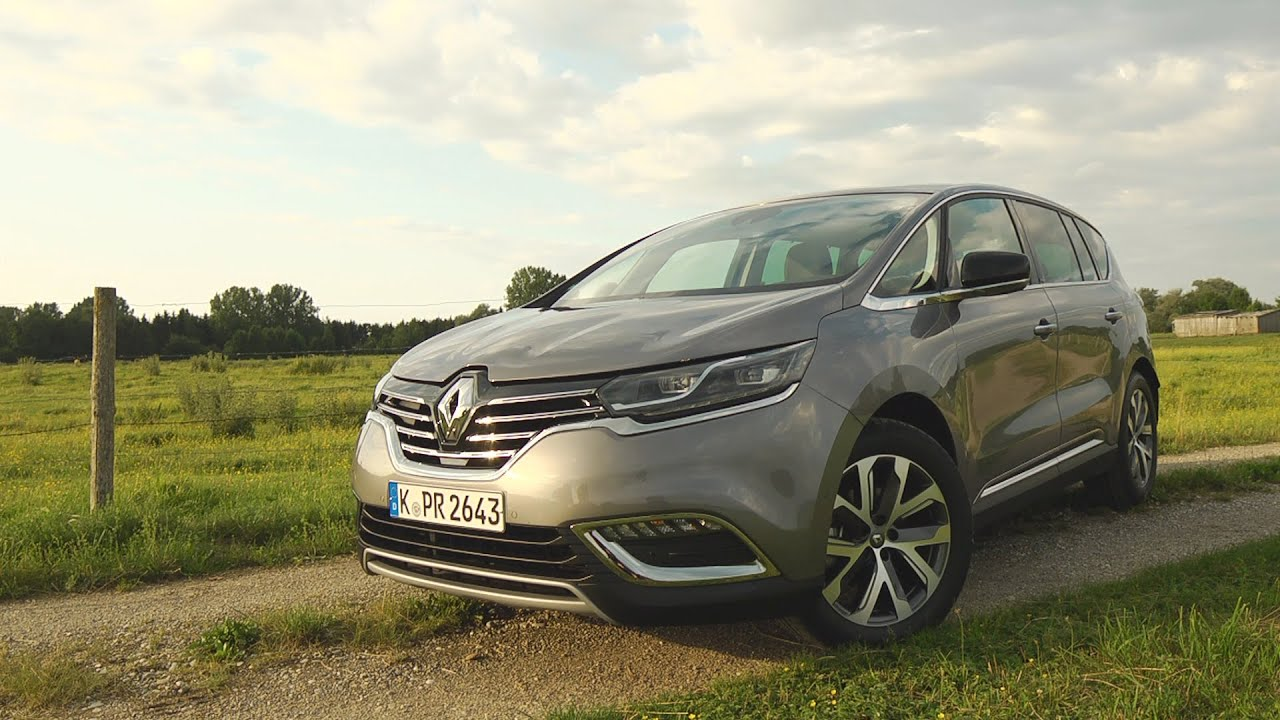 renault espace 1 6 dci im test autotest 2015 adac youtube. Black Bedroom Furniture Sets. Home Design Ideas