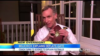 "Bill Nye ""The Science Guy"" Refutes Bill Belichick"