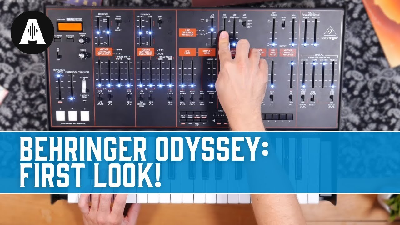 Behringer Odyssey: First Look!